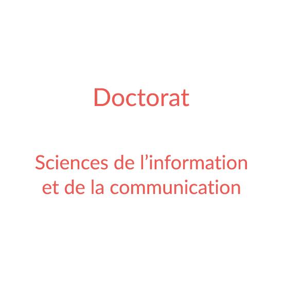 Doctorat Infocom