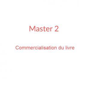 Master 2 Commercialisation du livre